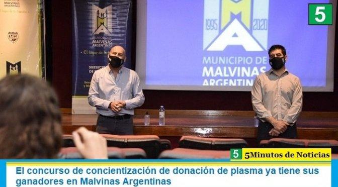 El concurso de concientización de donación de plasma ya tiene sus ganadores en Malvinas Argentinas