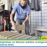 En Malvinas Argentinas se fabrican ladrillos ecológicos únicos en la provincia de Buenos Aires