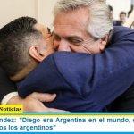 """Alberto Fernández: """"Diego era Argentina en el mundo, es un día muy triste para todos los argentinos"""""""