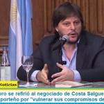 """Leandro Santoro se refirió al negociado de Costa Salguero y cuestionó al radicalismo porteño por """"vulnerar sus compromisos de campaña"""""""