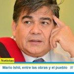 Mario Ishii, entre las obras y el pueblo
