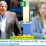 "Bloque de Senadores del Frente de Todos al FMI: ""que se abstenga de exigir o condicionar a Argentina"""