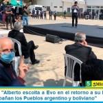 """Jorge Taiana: """"Alberto escolta a Evo en el retorno a su Patria y detrás de ellos acompañan los Pueblos argentino y boliviano"""""""