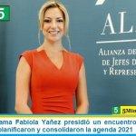 La Primera Dama Fabiola Yañez presidió un encuentro de la Alianza ALMA donde planificaron y consolidaron la agenda 2021