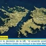 """Filmus destacó la decisión de la UE: """"el acuerdo posbrexit entre la Unión Europea y el Reino Unido no incluyó a las Islas Malvinas"""""""
