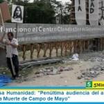 """Juicios de Lesa Humanidad: """"Penúltima audiencia del año en el juicio de Vuelos de la Muerte de Campo de Mayo"""""""