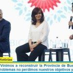 Axel Kicillof: «Vinimos a reconstruir la Provincia de Buenos Aires y a pesar de los problemas no perdimos nuestros objetivos y prioridades»