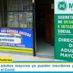 En Merlo los adultos mayores ya pueden inscribirse para recibir la vacuna contra el Covid