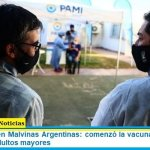 Día histórico en Malvinas Argentinas: comenzó la vacunación contra el Covid-19 en adultos mayores