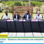 """Gobernador Kicillof: """"Estamos derrotando una campaña antivacuna de miedo y sabotaje"""""""