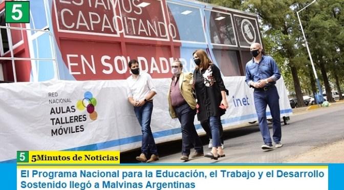 El Programa Nacional para la Educación, el Trabajo y el Desarrollo Sostenido llegó a Malvinas Argentinas
