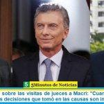 """Carlos Beraldi sobre las visitas de jueces a Macri: """"Cuando un juez no es imparcial las decisiones que tomó en las causas son inválidas"""""""