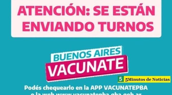 """Ministro Gollán a los bonaerenses: """"Estamos enviando miles de nuevos turnos para los próximos días"""""""