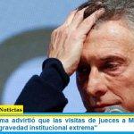 """Justicia Legítima advirtió que las visitas de jueces a Macri en Olivos """"revisten una gravedad institucional extrema"""""""