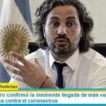 Santiago Cafiero confirmó la inminente llegada de más vacunas Sputnik V y AstraZeneca contra el coronavirus