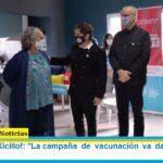 Gobernador Kicillof: «La campaña de vacunación va dando frutos en su avance»