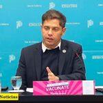 El gobernador Axel Kicillof anunció que el Área Metropolitana de Buenos Aires «pasa a fase 4»