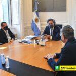Santiago Cafiero: «Este es un Gobierno que tiene la decisión política de apostar por ciencia y tecnología»