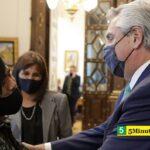 El Presidente Fernández recibió al joven wichi que creó una aplicación para traducir su idioma