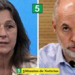 Ministra Frederic sobre el aumento del 22% de homicidios en CABA: «Larreta no sabe contar»