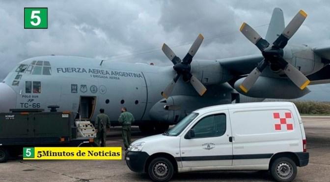 El Gobierno argentino envió una carga con ayuda humanitaria a Cuba para enfrentar la pandemia de coronavirus
