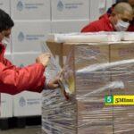 El Gobierno Nacional distribuye más de 300 mil dosis del componente 2 de la Sputnik V en todo el país