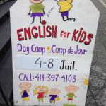 Overview: English for Kids and Teens Bible Camps (Quebec City)