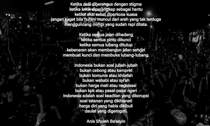 Quotes Hari Ini, Anis Sholeh Ba'syin-2