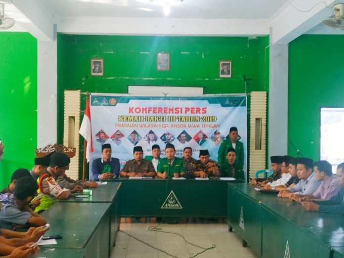 GP Ansor Kumpulkan Kader Banser Jateng di Jepara