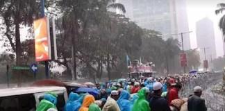 Demo Uighur di Kedubes Cina, FPI Serukan Khilafah di Indonesia