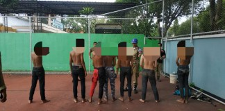 Anak Punk di Mako Satpol PP Pati