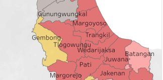 Update Virus Corona, 12 dari 21 Kecamatan di Pati Zona Merah