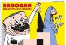 Kartun Sampul Majalah Satir Prancis Charlie Hebdo Hina Erdogan