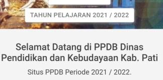 Syarat, Alur dan Jadwal PPDB SMP Kabupaten Pati 2021
