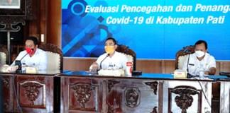 """Bupati Pati Haryanto mencanangkan """"Gerakan Pati di Rumah Saja"""" pada hari akhir pekan"""