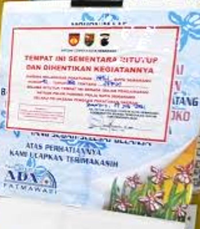 Tetap Buka Saat PPKM Darurat, Supermarket di Semarang Disegel