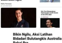 Kala Olahraga Jadi Berita Cabul