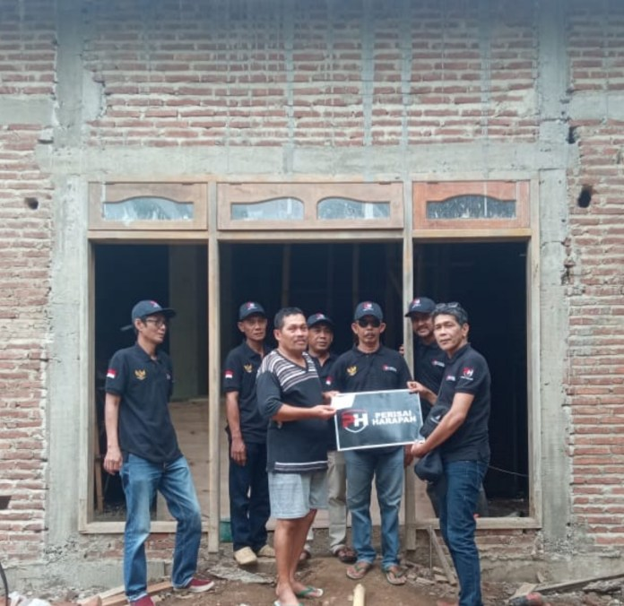 Perisai Harapan Bantu Pembangunan Mushola di Tayu