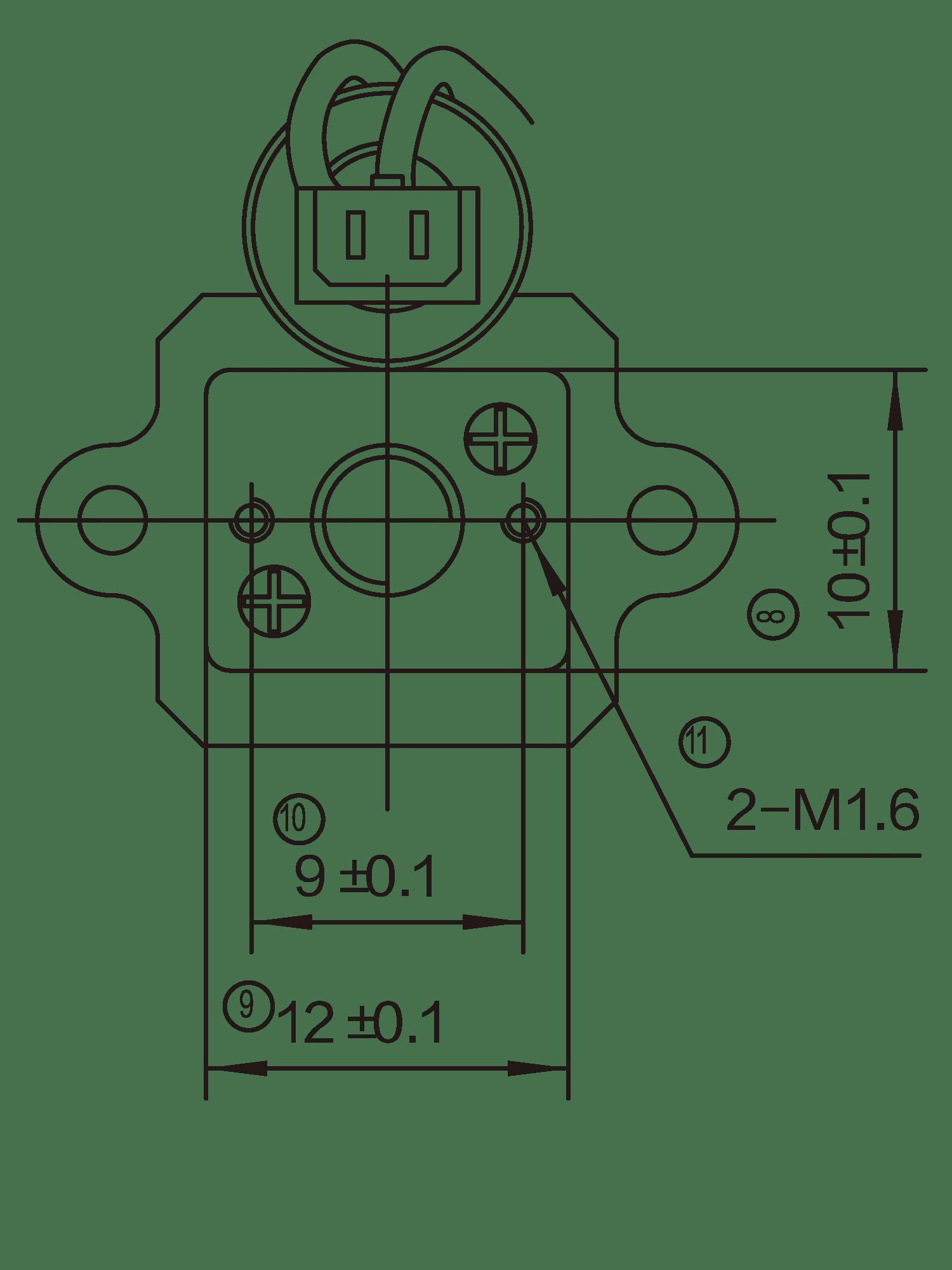 Spur Gear Box Gear Box Motor 12jfg