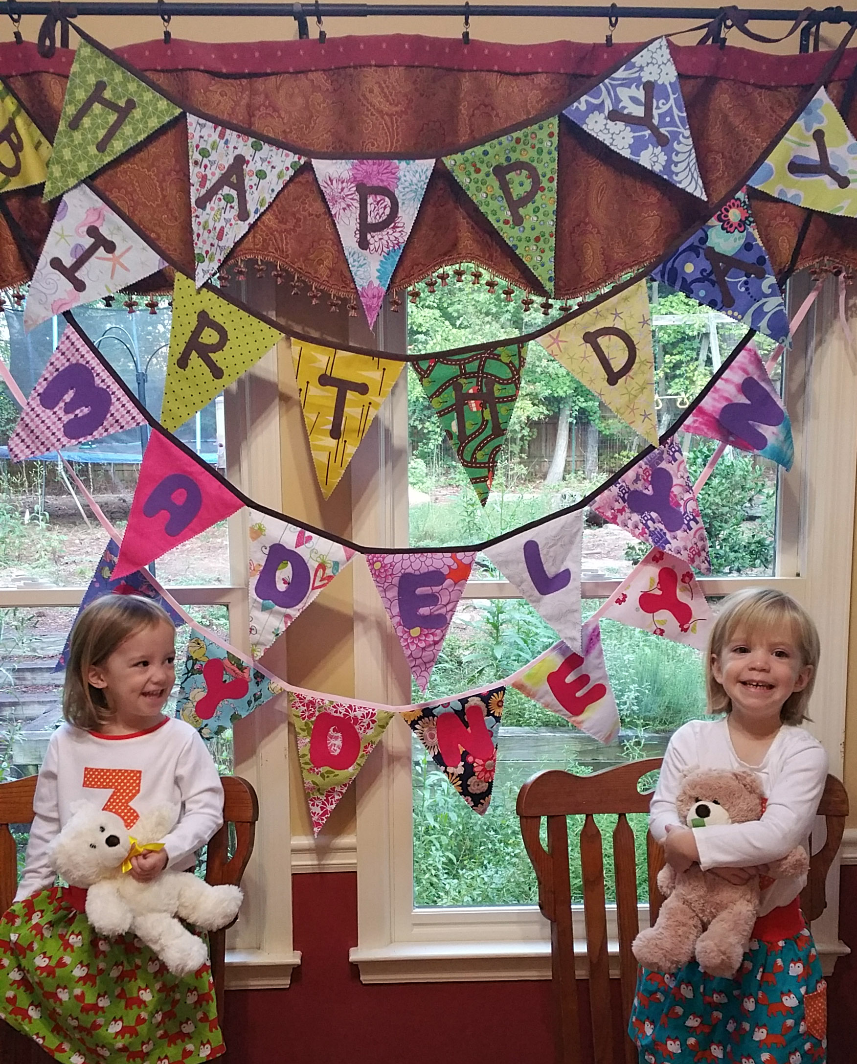 Tutorial: Birthday Bunting