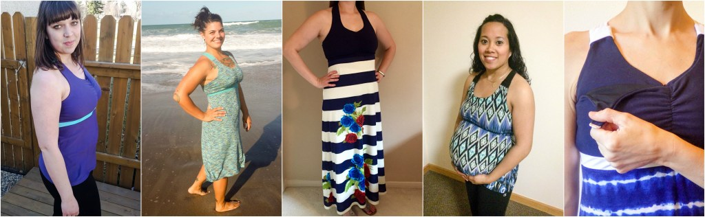 Journey Tank and Dress Collage