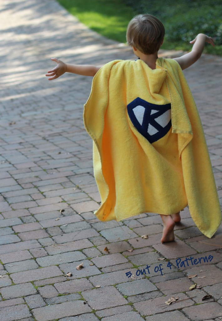 Towel cape watermarked