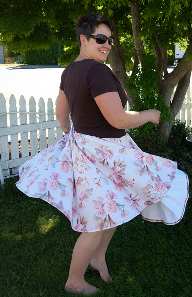 Women's Luna Circle Skirt