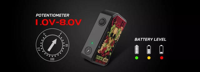 Dovpo M VV II Voltage Output Based Box Mod