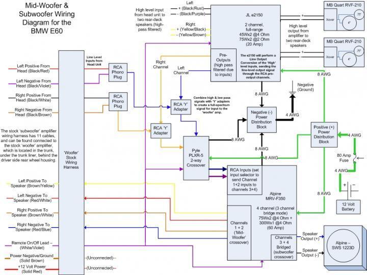 Bmw E46 Speaker Wiring Diagram - Wiring Diagram