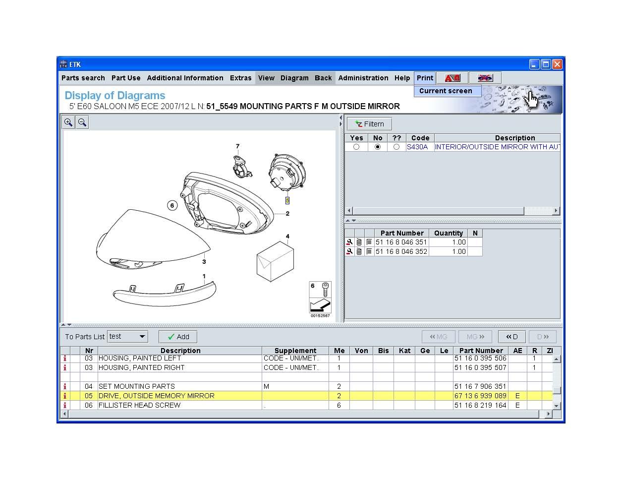 Bmw 5 Series Wiring Diagrams Mod Diagram