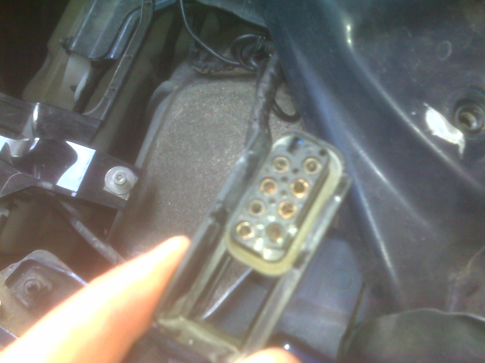Removing Wire From A Pin On Headlight Wiring Harness