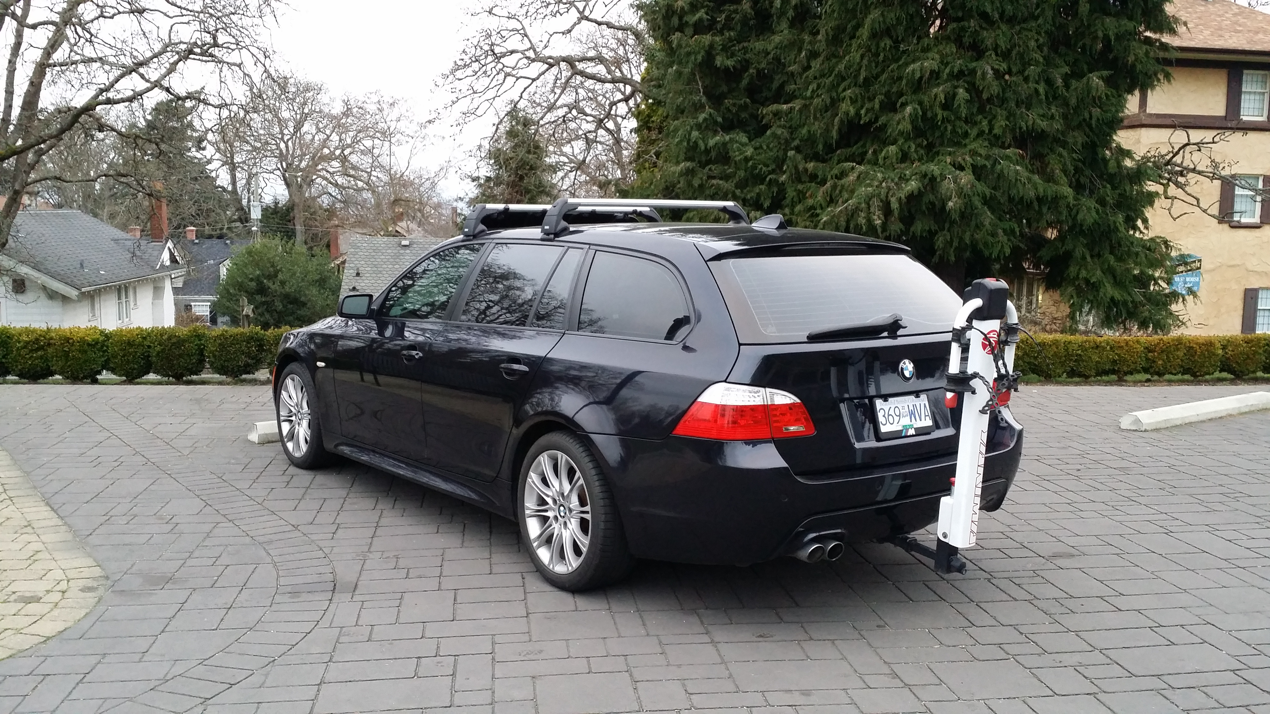 install roof rails in e61 5series net