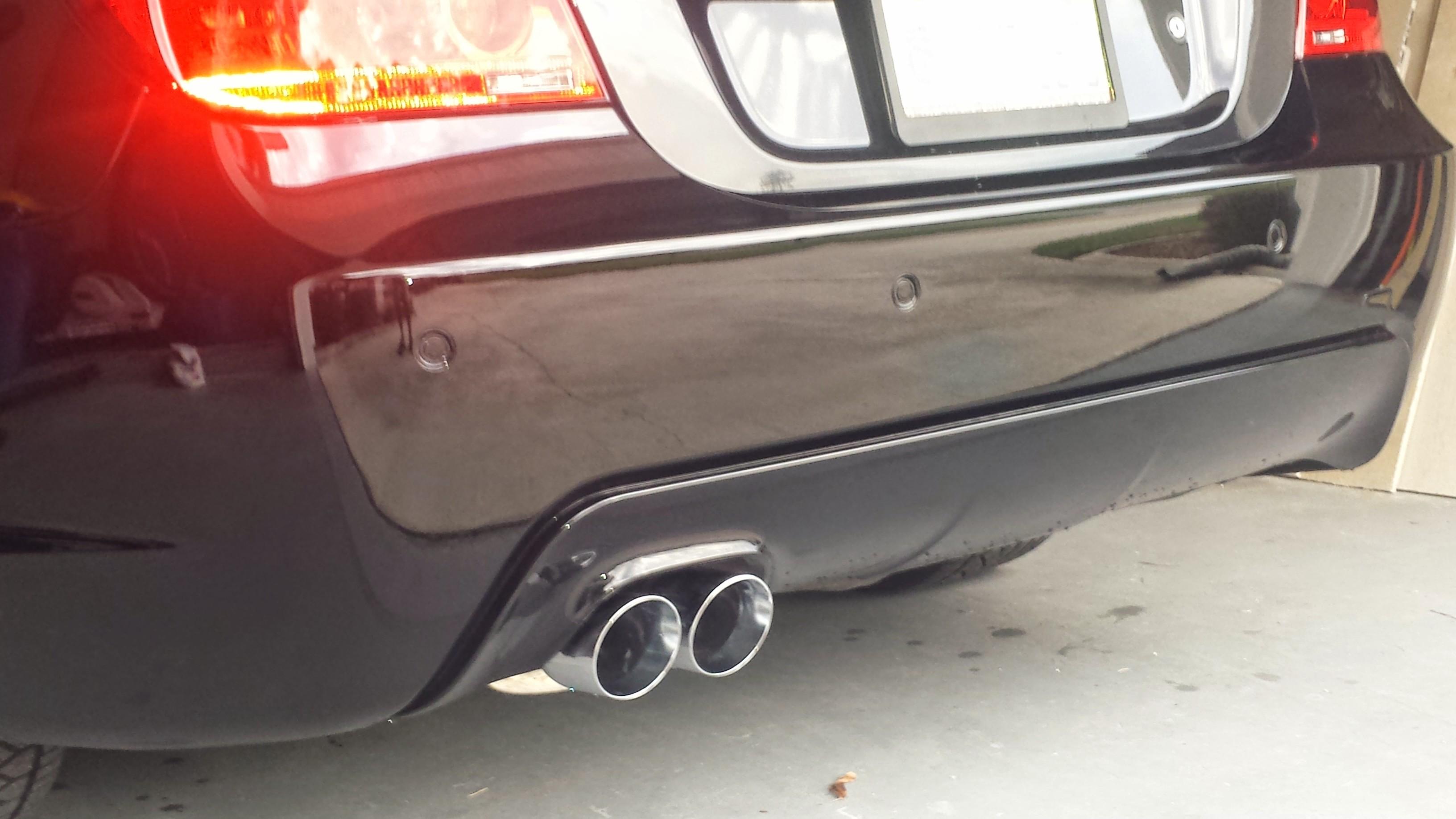 fs e60 550i magnaflow catback exhaust