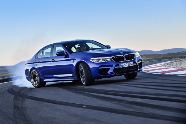 The 2018 BMW M5 Competition Package makes an impressive car even better.
